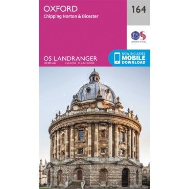 OS Landranger Map - 164 - Oxford, Chipping Norton & Bicester