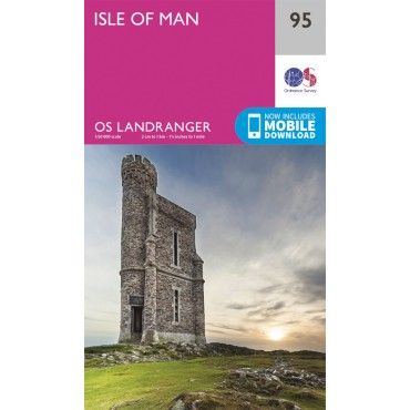 OS Landranger Map - 95 - Isle of Man