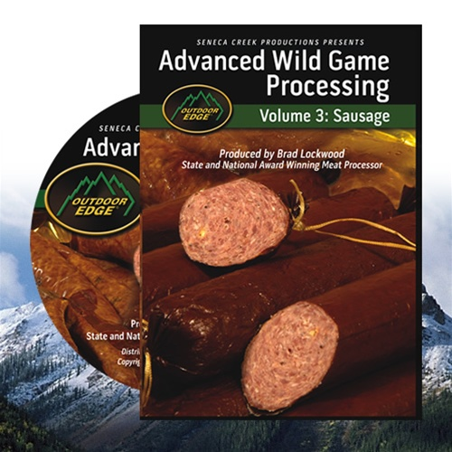 Outdoor Edge DVD - Advanced Wild Game Processing, Vol. 3: Sausage