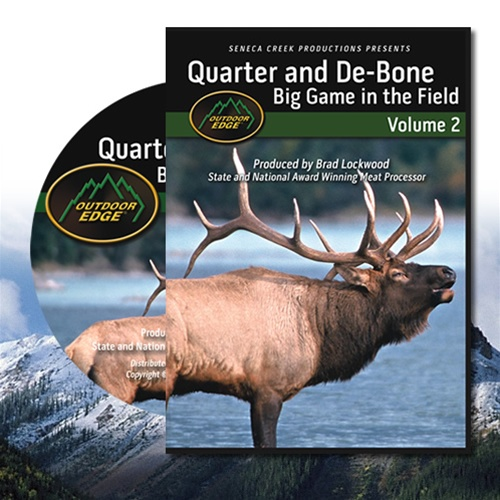 Outdoor Edge DVD - Quarter & De-bone DVD, Vol.2