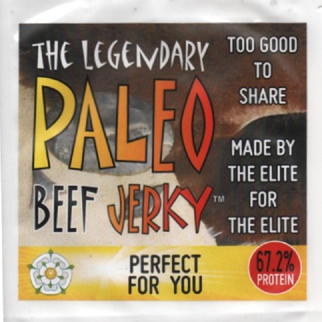 Paleo BBQ Beef Jerky - Made in Yorkshire with Local Beef