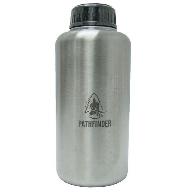 Pathfinder Stainless Steel 64oz/1800ml Widemouth Bottle