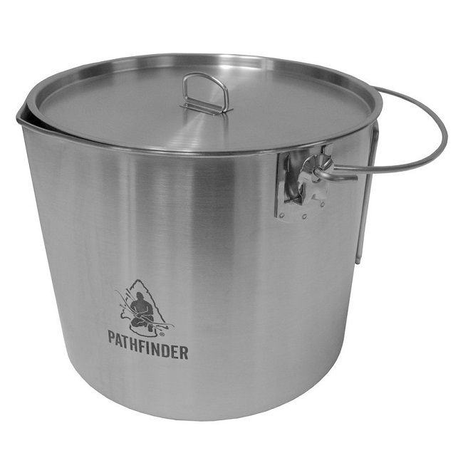 Pathfinder Stainless Steel Bush Pot - Large