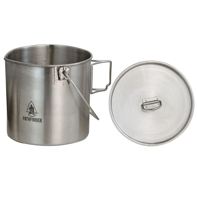 Pathfinder Stainless Steel Bush Pot - Regular