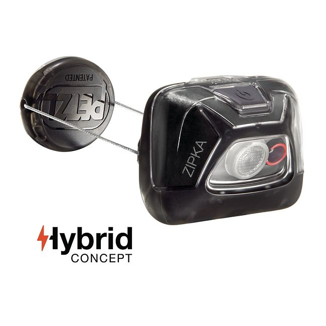 Petzl Zipka Compact Head Torch - Hybrid Version
