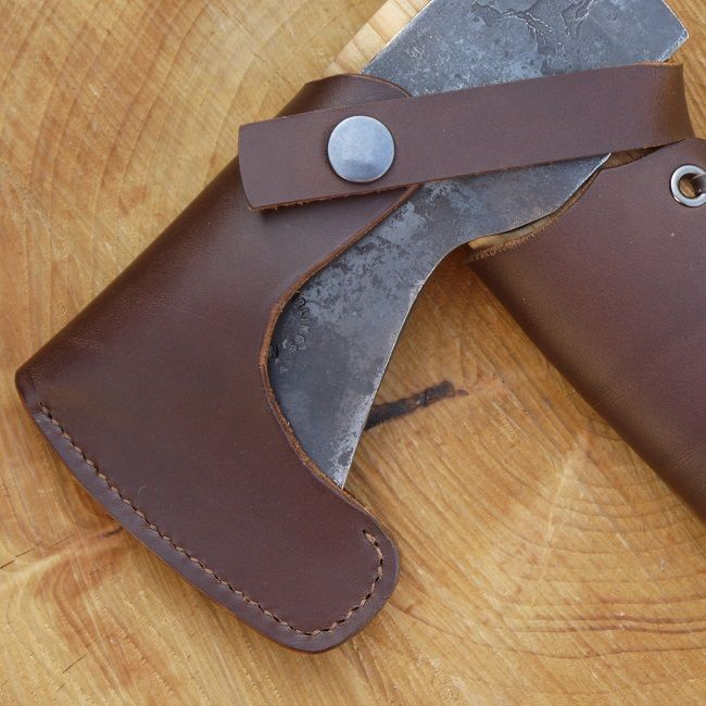 Six Magpies Axe Sheath for Small Forest Sized Axe
