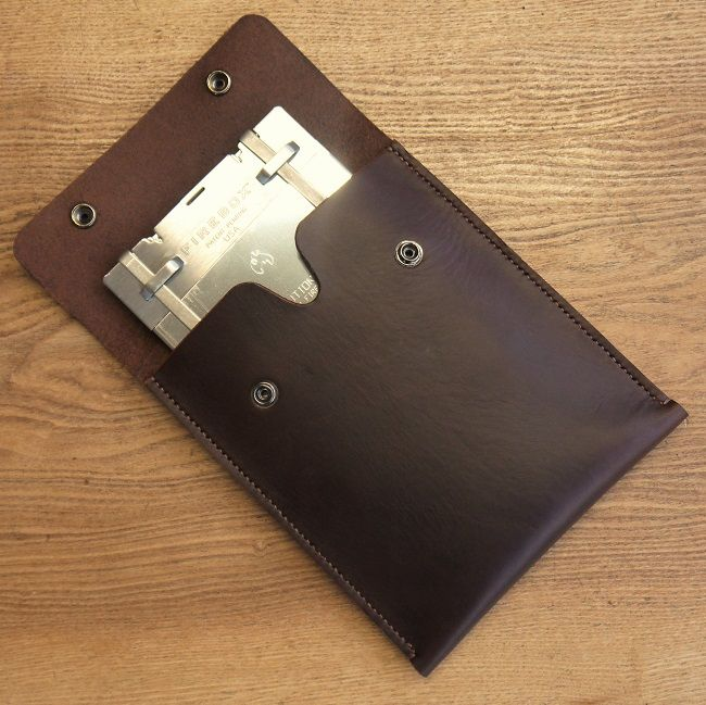 Six Magpies Folding Firebox Pouch