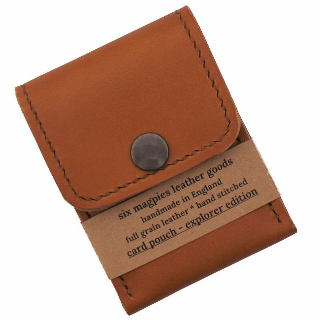 Six Magpies Leather Explorer Card Pouch