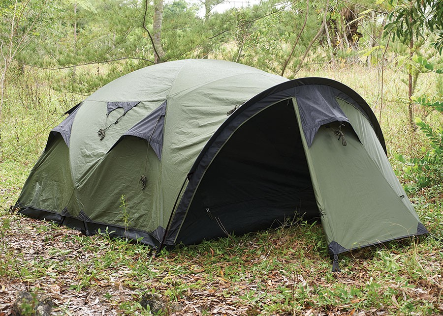 1 Tarp Tent With Floor And Door