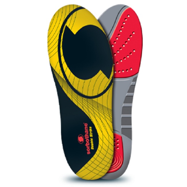 Sorbothane Insoles - Double Strike