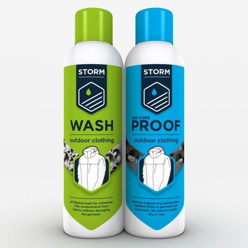 Storm Eco Wash and Re-Proofer Twin Pack