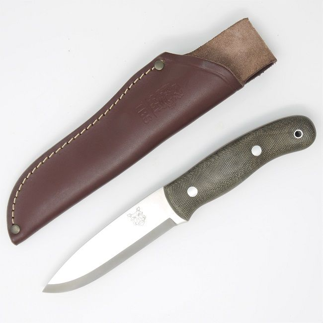 TBS Boar Bushcraft Knife - Standard Sheath - Military Model