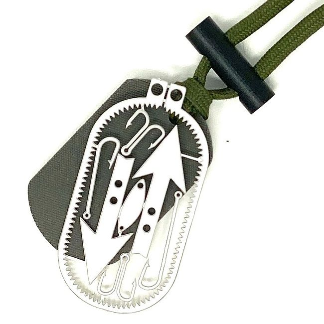 TBS Dog Tag Fire Striker with a great choice of options