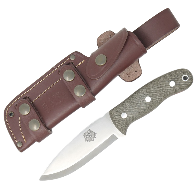 TBS Grizzly Bushcraft Survival Knife - Military Model