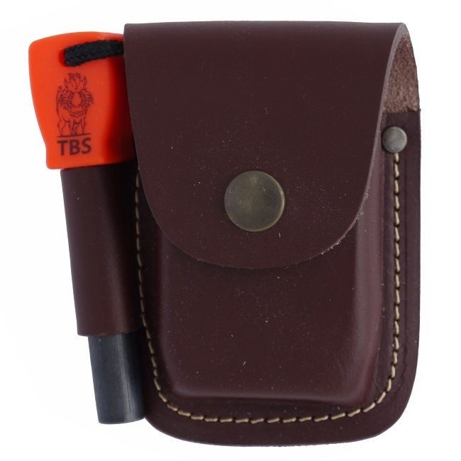 TBS Leather Fire Pouch - Fatboy Size