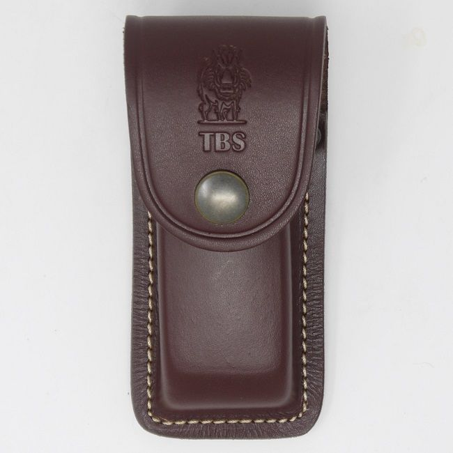 TBS Leather Folding Knife Pouch - Wildcat Size