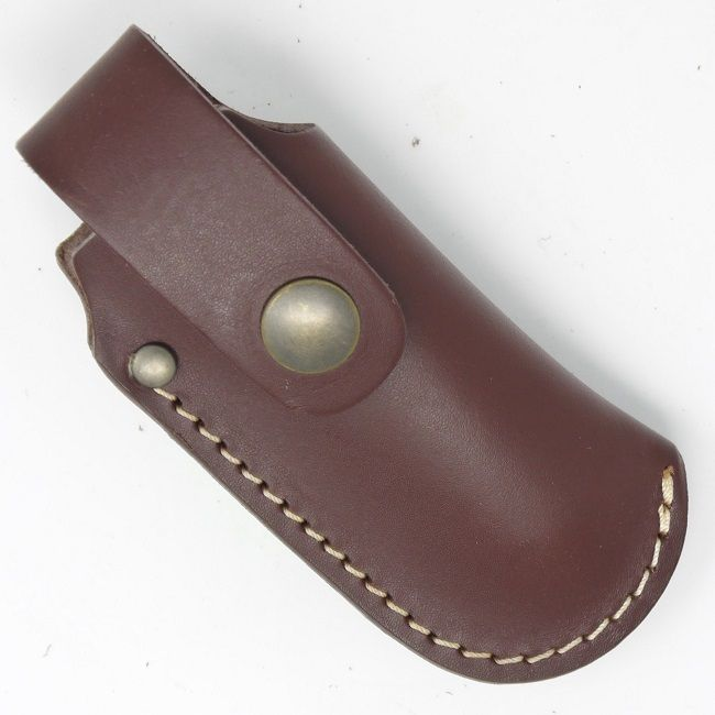 TBS Leather Small Folding Knife Belt Pouch