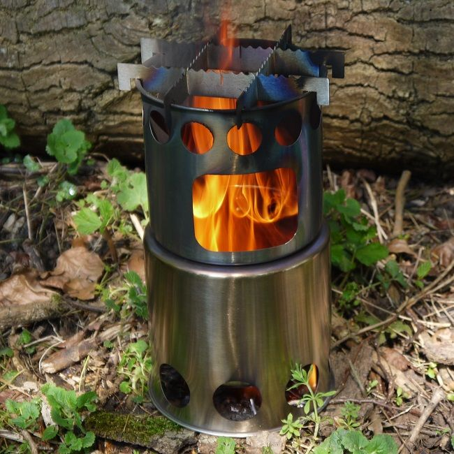 TBS Salamander Wood Burning Stove - An excellent quality Wood Gas stove.