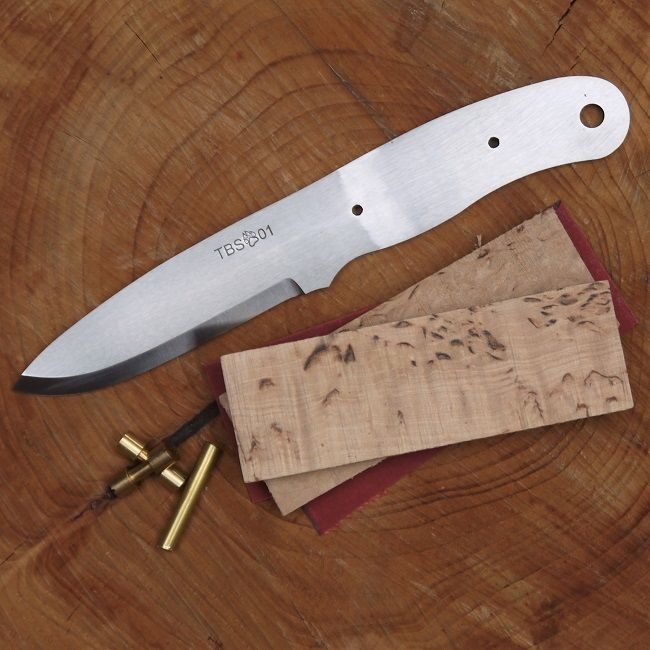 TBS Timberwolf Bushcraft Knife Kit - Make your own Boar - Kit 1