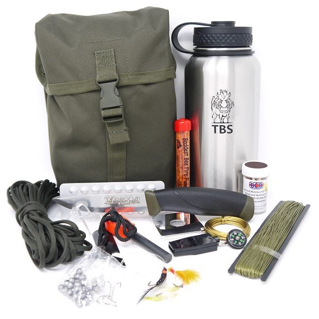 TBS Water Bottle Survival Kit