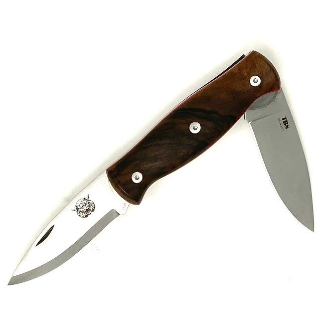 TBS Wildcat Pocket Knife - Turkish Walnut
