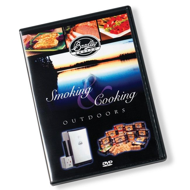 The Bradley Smoker Cooking and Smoking Outdoors DVD