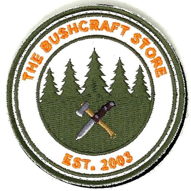 The Bushcraft Store Circular Logo Patch