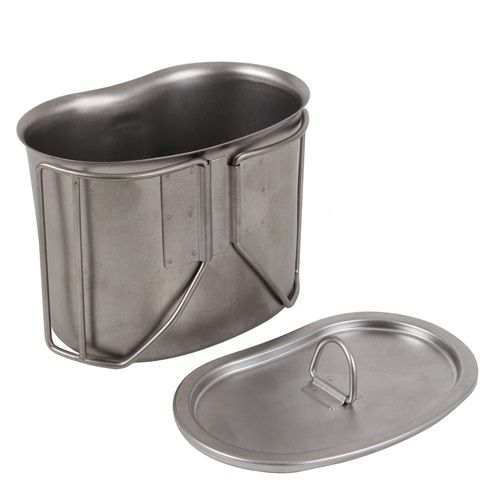 US Stainless Steel Canteen Cup Lid