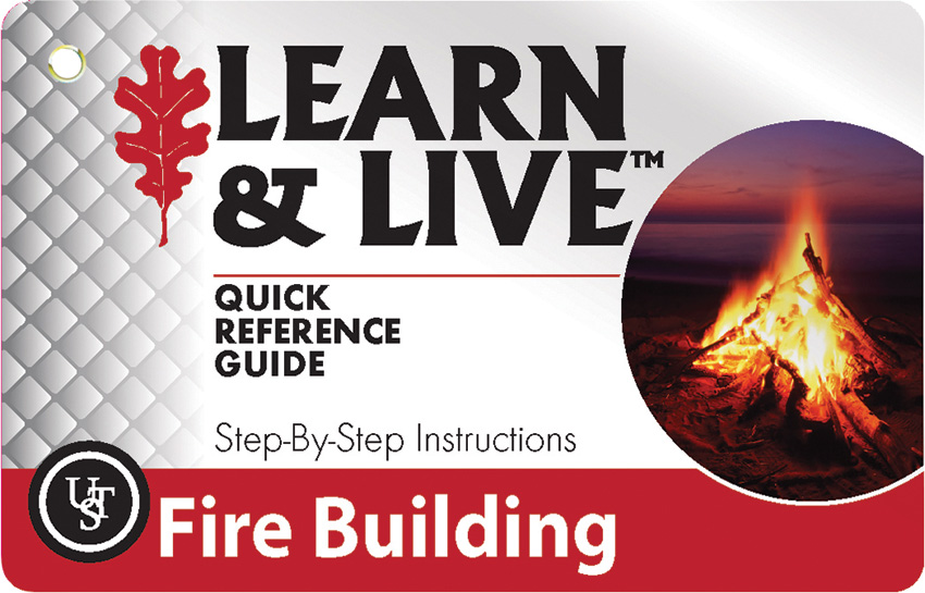 UST Learn & Live Cards - Fire