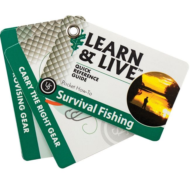 UST Learn & Live Cards - Fishing