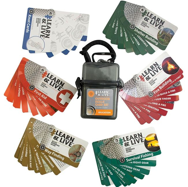 UST Learn & Live Cards - Outdoor Set