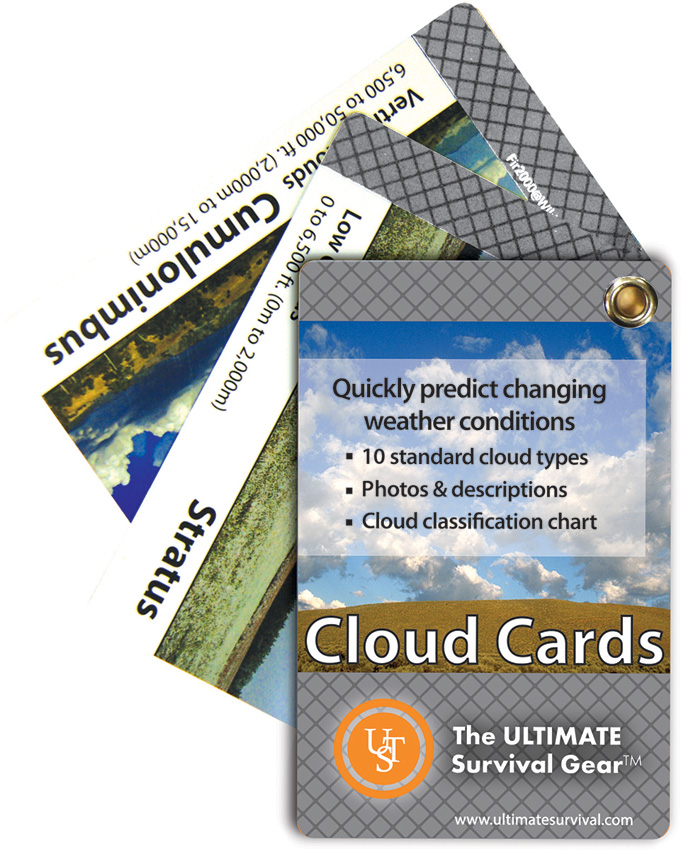 UST Ultimate Survival Cloud Cards