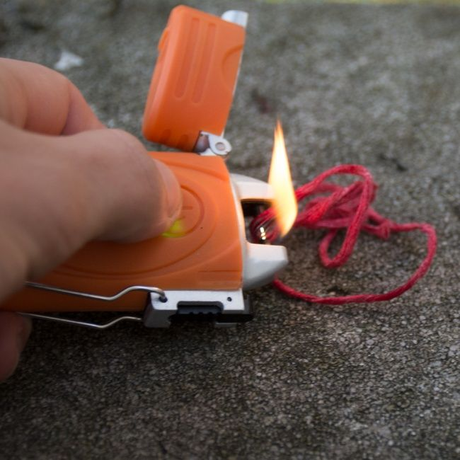 UST Ultimate Survival TekFire Fuel Free Lighter