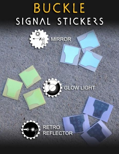 Wazoo Firestorm Buckle Signal Stickers
