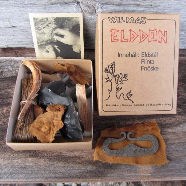 Wilmas Elddon Swedish Natural Firelighting kit