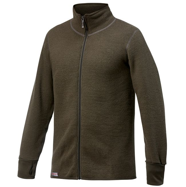 Woolpower Ullfrotte Full Zip Jacket - 600