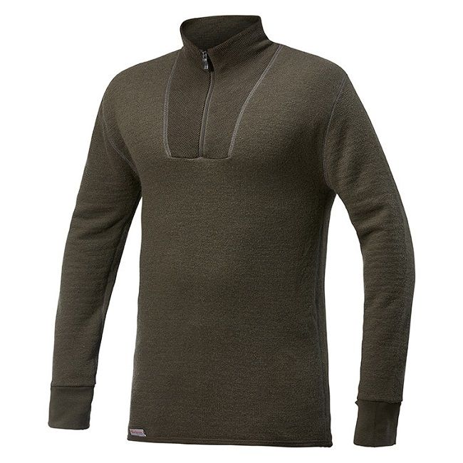 Woolpower Ullfrotte Turtleneck Top - 200