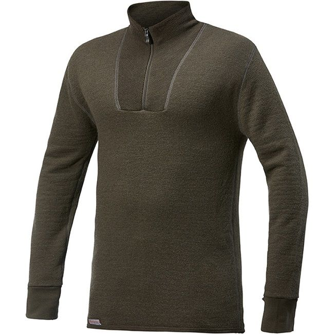 Woolpower Ullfrotte Turtleneck Top - 400